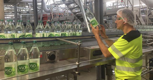 VIO 1-Liter Glasflaschen