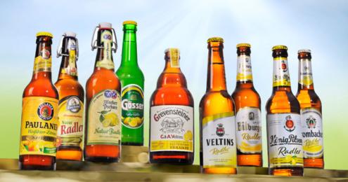 Veltins alkohofreie Biermischgetränke