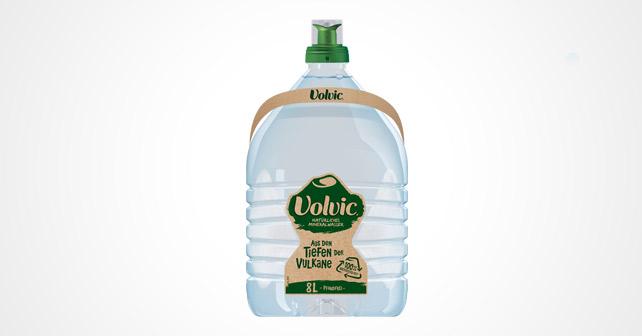 Volvic 100 Prozent recyclebar