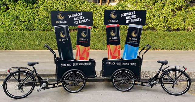 28 Black Fahrrad