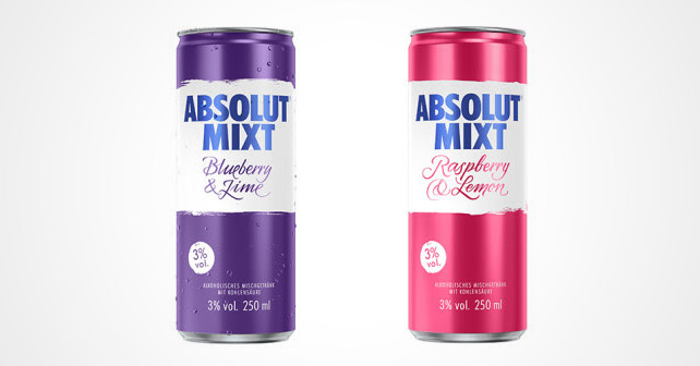 Absolut Mixed Berries RTD