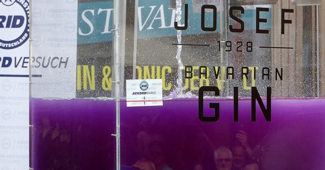 Josef Bavarian Gin Weltrekord