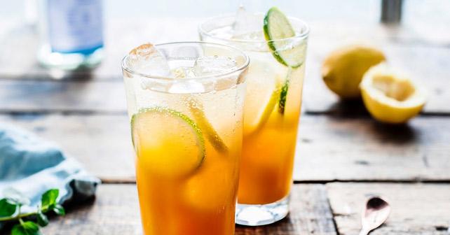 Limonaden mit Wasser