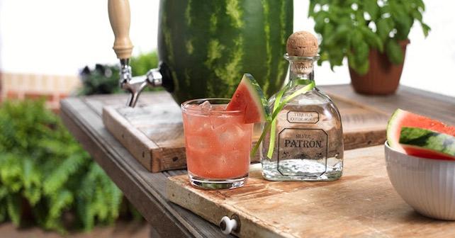Watermelon Patio Punch