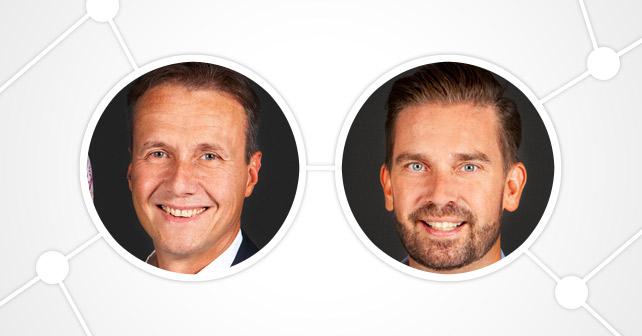 Andre Hilmer und Oliver Jaensch Warsteiner