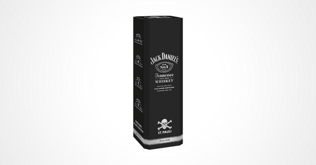 Jack Daniels St.Pauli Geschenkverpackung