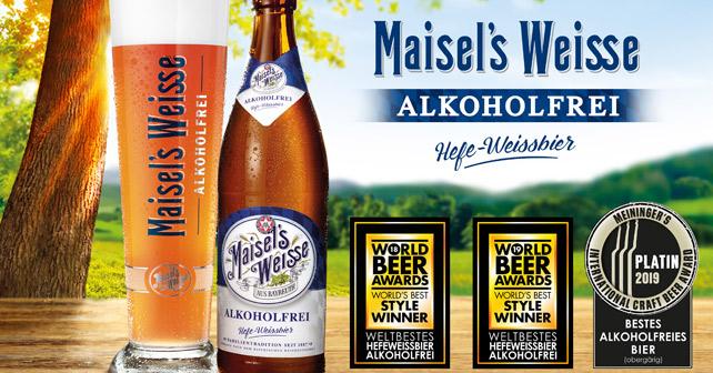 Maisel's Weisse alkoholfrei Auszeichnung