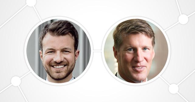 Warsteiner Lars Ruge und Andreas von Grabowiecki