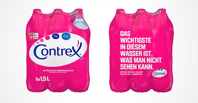 Contrex Verpackung 2019