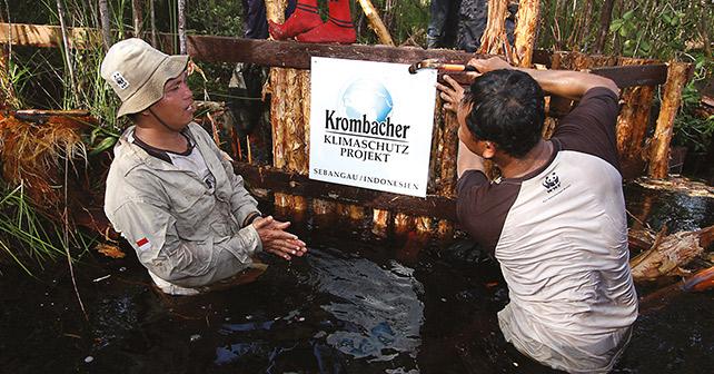 Krombacher Klimaschutz Borneo