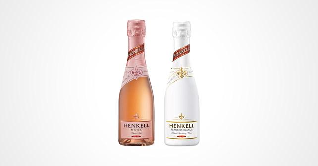Henkell weiss und rose