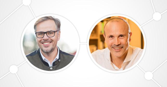 Matthias Tomasetti und Markus Horn Loewenbraeu
