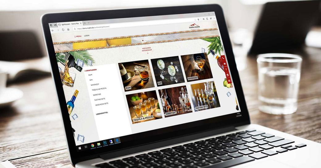 Sierra Madre Website Relaunch