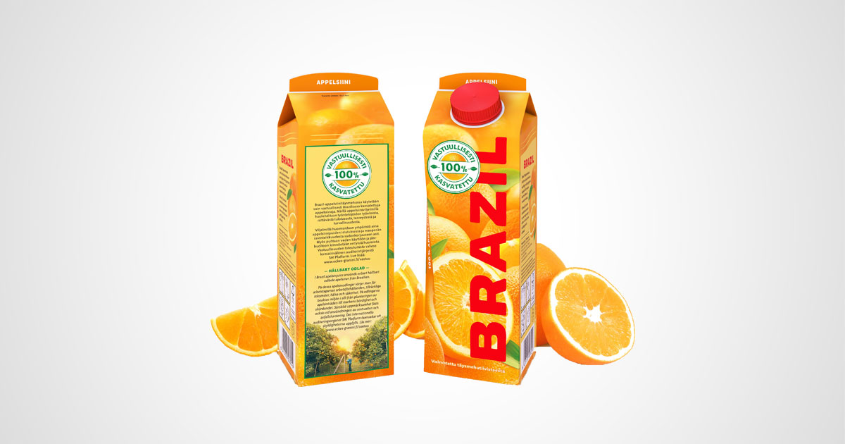 Granini Eckes Brazil Orangensaft