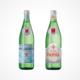 S.Pellegrino und Acqua Panna Flaschen