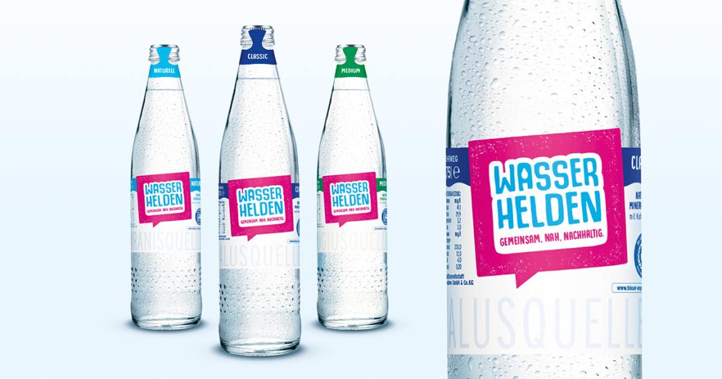 Mineralwasser Wasserhelden