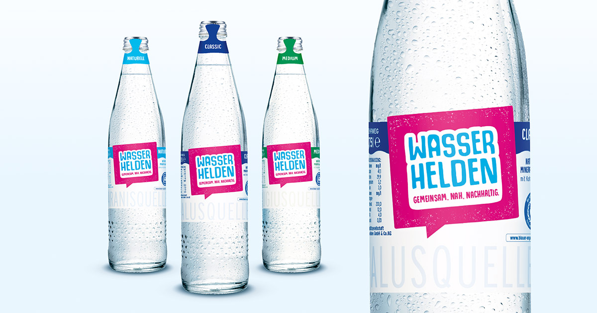 Wasserhelden - Gemeinsam. Nah. Nachhaltig. - about-drinks.com