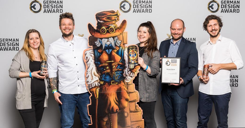German Design Award Steam Brew