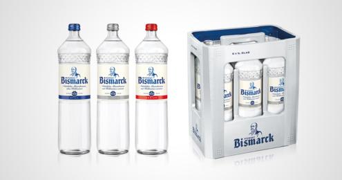 Bismarck Glasflaschen Design 2020