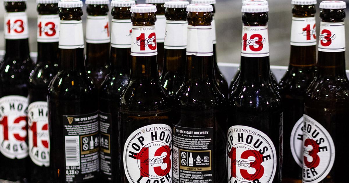 Hop House 13 Guiness Flasche