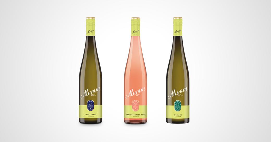 Mumm & Co. Weinsortiment