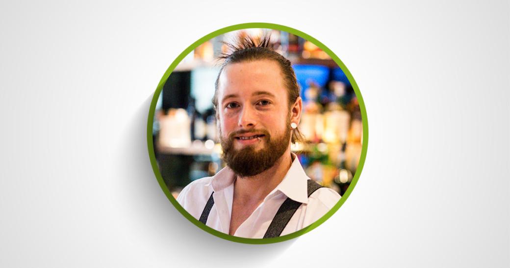 LINIE Aquavit Bartender des Monats Florian Bergmann