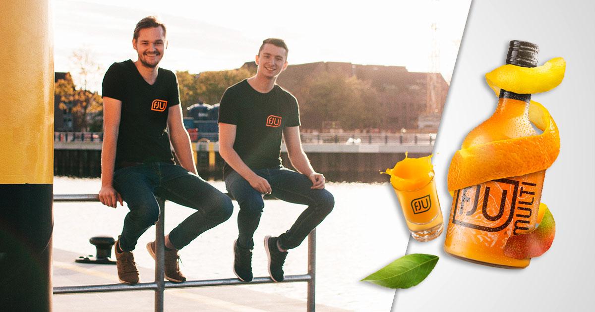 FJU Gründer Finn Brüggemann und Julian Rotermund