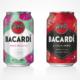 Bacardi RTD Razz Mojito und Cola Zero