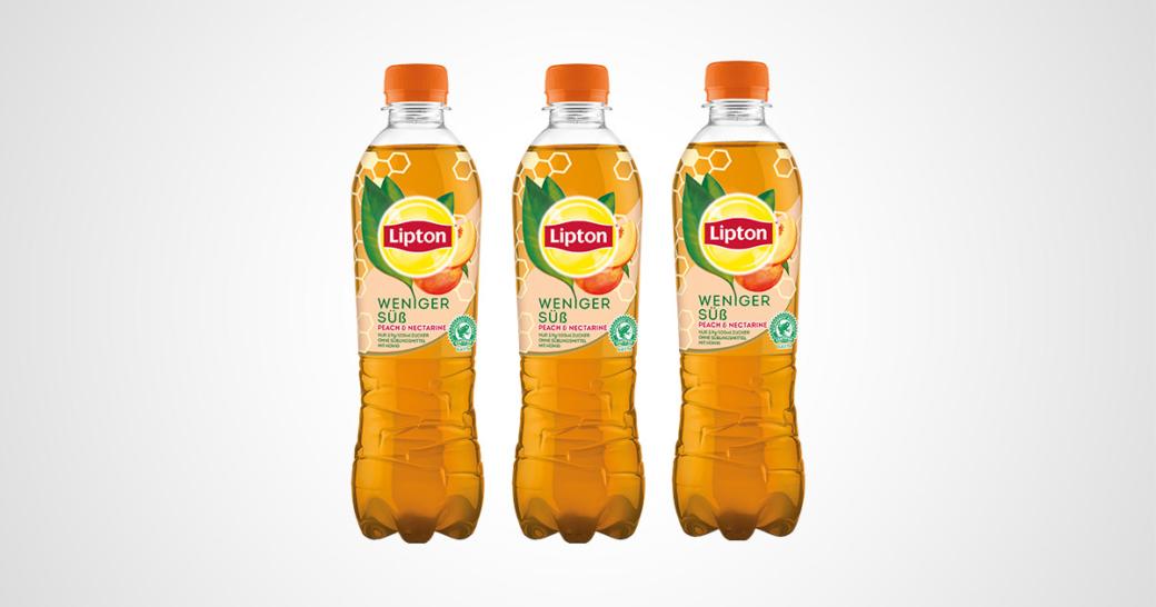 Lipton weniger süß