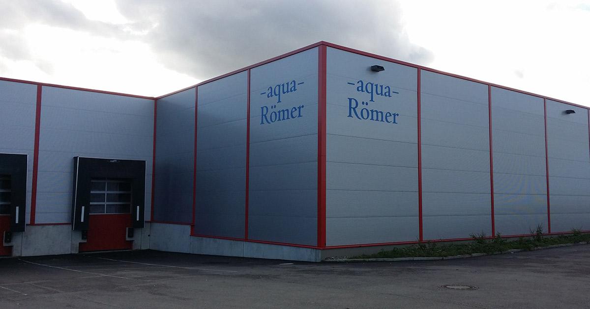 Aqua Römer Gebäude