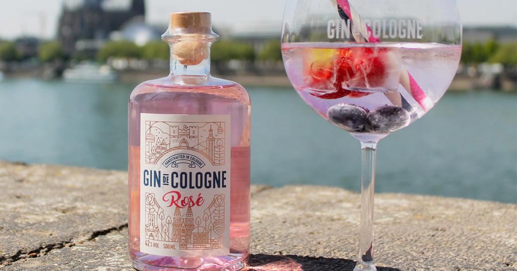 Gin De Cologne Rose