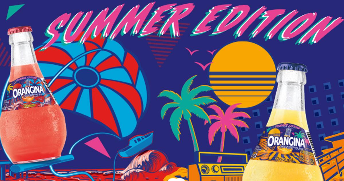 Orangina Summer Edition