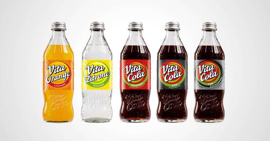 Vita Cola Glasflasche
