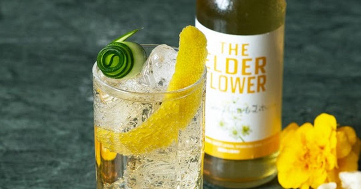the elderflower