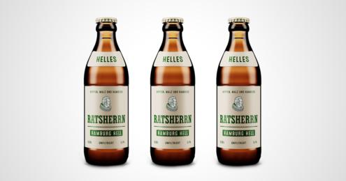 Ratsherrn Hamburg Hell Flaschen