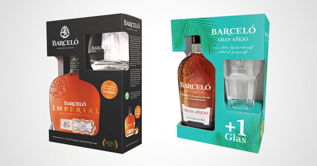 Barceló Rum On-Packs Weihnachten 2020