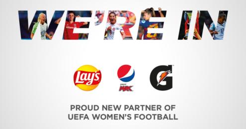 PepsiCo Partner UEFA Frauenfußball