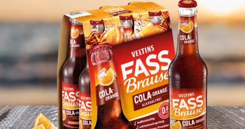Veltins Fassbrause Cola Orange