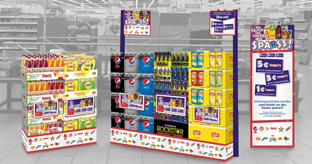 Pepsi Co Marken Kampagne