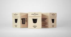 Röststätte Kaffeekapseln