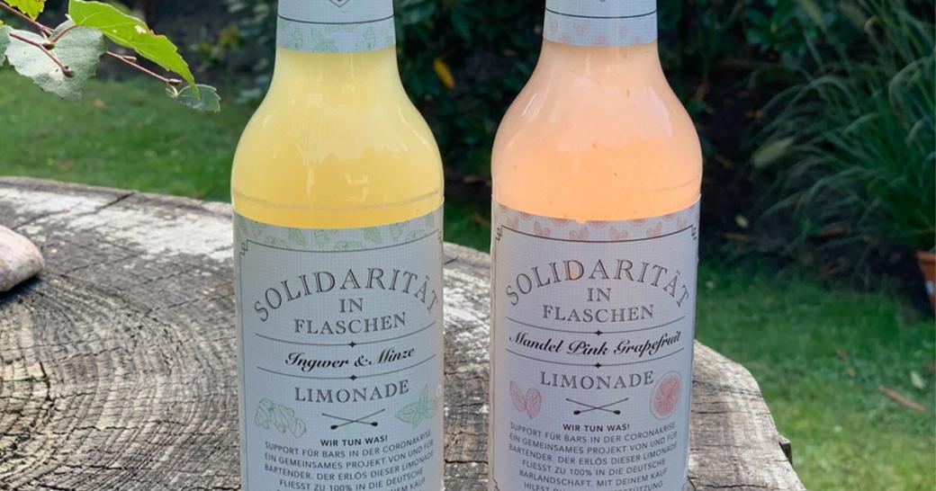 Solidarität in Flaschen