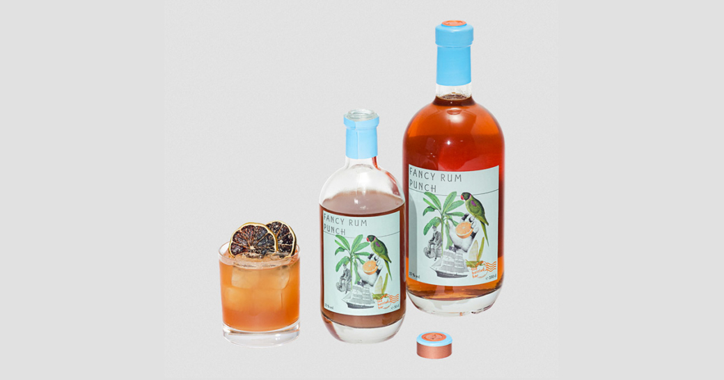 bottled bar