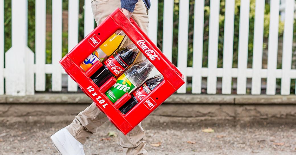 Coca Cola Kiste