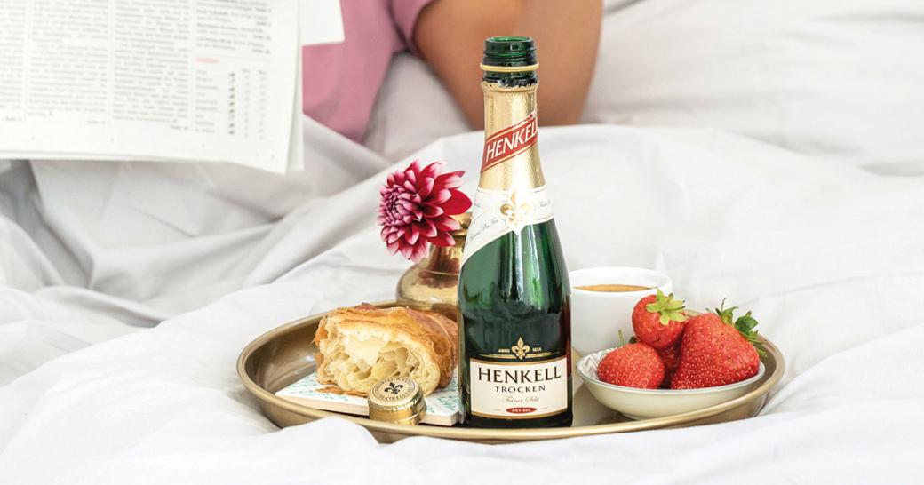 Sektfrühstück Henkell