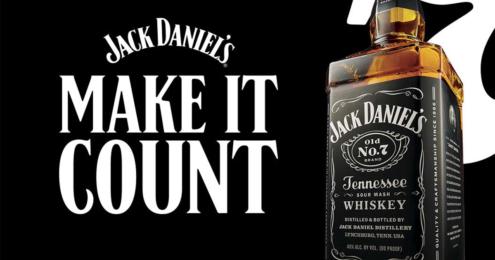 Jack Daniels Make it Count