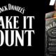 Jack Daniels Make it Count