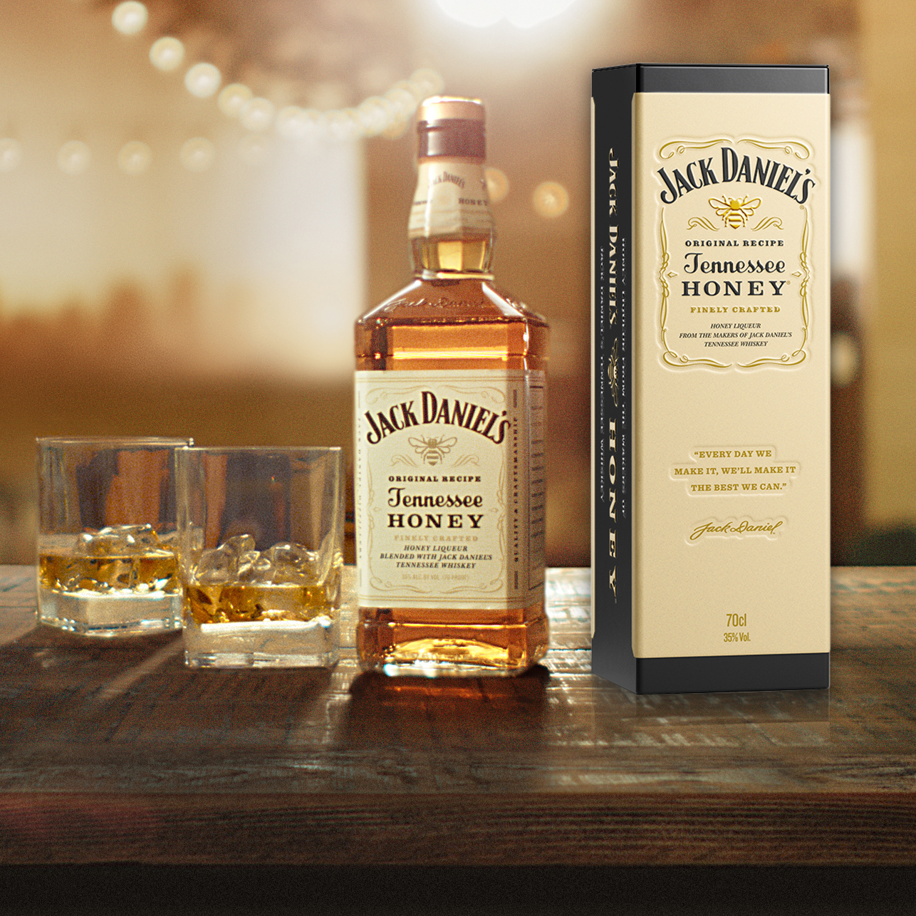 JACK DANIEL'S Tennessee Honey Drinks about
