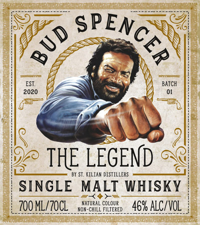 Bud Spencer Etikett