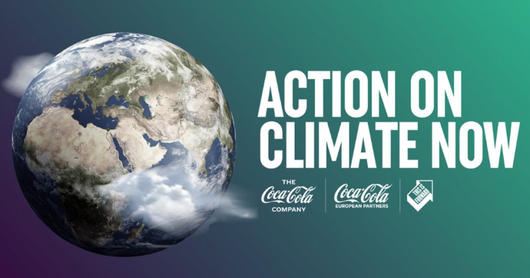 coca cola action on climate now