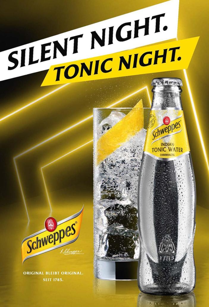 schweppes tonic kampagne